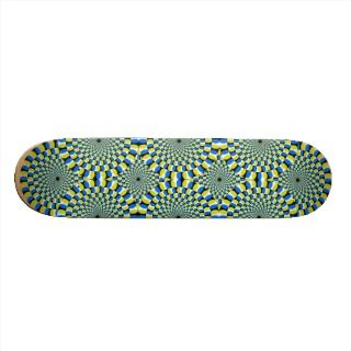 Optical Illusion Skateboard