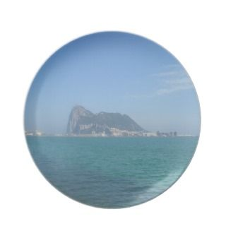 Coastal Views   The Rock of Gibraltar Plate
