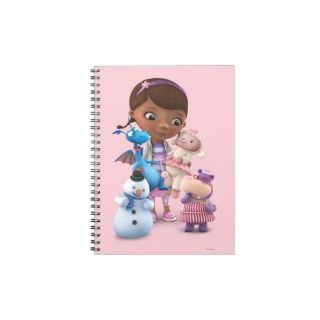 Doc McStuffins and Her Animal Friends Spiral Note Book