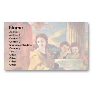 By Poussin Nicolas (Best Quality) Business Card