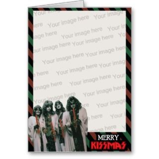 Merry Kissmas Template Card