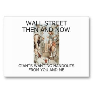 TEE Wall Street Business Card Templates