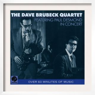 Dave Brubeck Quartet   Featuring Paul Desmond in Concert Pre made Frame