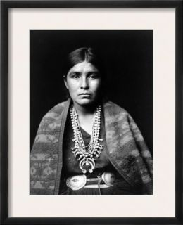 Navajo Woman, C1904 Framed Photographic Print by Edward S. Curtis