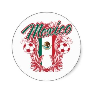 Mexico Futbol Sticker