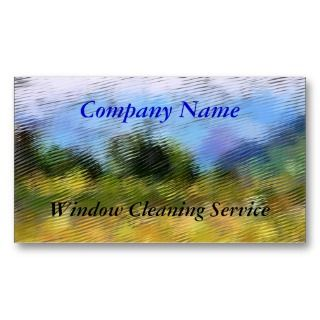 TRADES, WINDOW CLEANING BUSINESS CARD TEMPLATE by twocompany