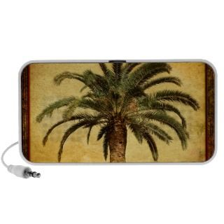 Palm Tree   Tropical Customized Template Speakers