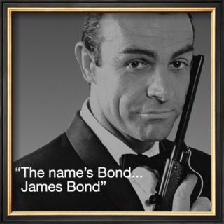 James Bond Bond Pre made Frame