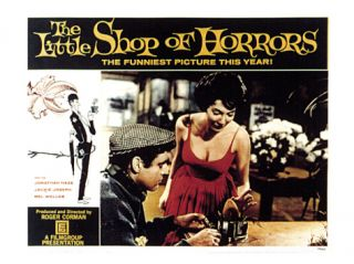 The Little Shop of Horrors, Jonathan Haze, Jackie Joseph, 1960 Premium Poster
