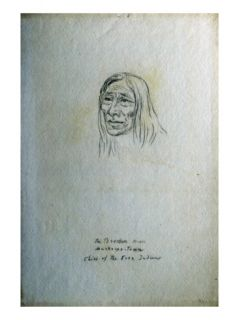 Portrait of the Broken Arm Muske Pe Toun Chief of the Cree Indians Giclee Print by Gustav Sohon