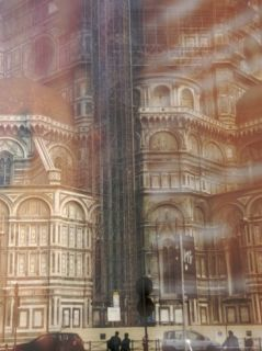 Duomo and Campanile under Construction, Florence, Italy Photographic Print by Brimberg & Coulson