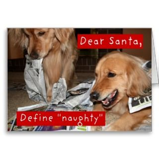 Greeting Cards, Note Cards and Naughty Santa Greeting Card Templates