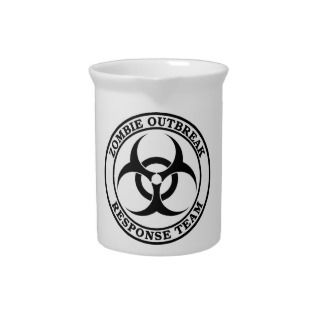 Zombie Outbreak Response Team (Biohazard) Drink Pitchers