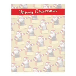 Claus Letterhead, Custom Letter Santa Claus Letterhead Templates