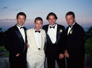 Brothers Alec, Stephen, William and Daniel Baldwin Premium Photographic Print