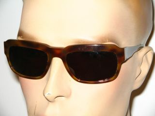 Handmade tortois colored sunglasses by OWP Germany