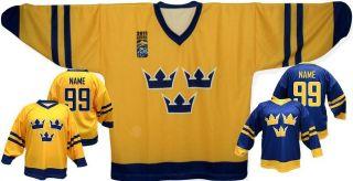 Team SWEDEN Ice Hockey Jersey,2011 CHAMPIONSHIP