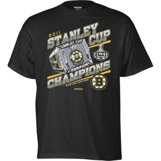 Reebok BOSTON BRUINS Stanley Cup 2011 NHL T SHIRT