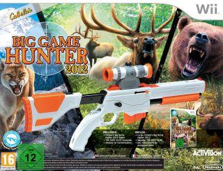 Cabelas Big Game Hunter 2012   inkl. Top Shot Elite Gun Controller