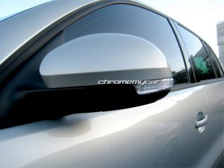 Chrome Side Mirror Covers Volkswagen VW Tiguan 07 12