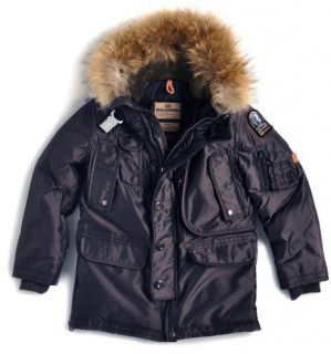 PARAJUMPERS KIDS BOYS KODIAK 2013 100% AUTHENTIC GOOSE DOWN PARKA W