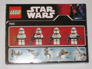 LEGO STAR WARS 7655 CLONE TROOPERS BATTLE PACK MISB NEW RAR KG