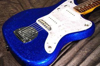 FENDER JAPAN JAZZMASTER JM66/BM Blue Sparkle Shop order Rare color MIJ