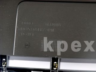 Grille Audi S4 S Line + PDC silver Platinum front BUMPER A4 Facelift