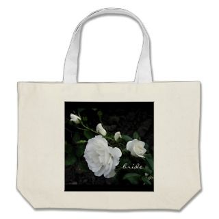 Snow White Rose   Brides Bag