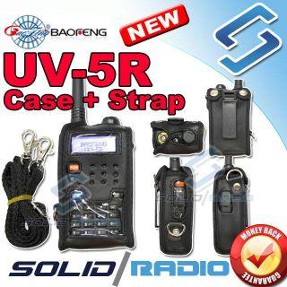 Softcase for BAOFENG Dual band Radio UV 5R + Shoulder strap case UV5R