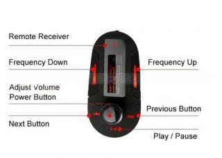 USB Stick SD TF KFZ Auto  Player Radio Wireless Car FM Transmitter