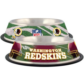 Washington Redskins Stainless Steel Pet Bowl   Team Shop   Dog