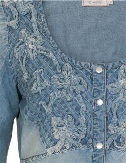 Cream Kleid, Jasmine Denim Dress, asia blue denim, Jeans Kleid, XS 34