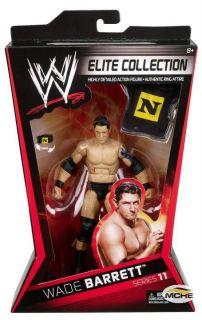 Wade Barrett Figur   WWE Elite 11   Wrestling   Nexus   Mattel