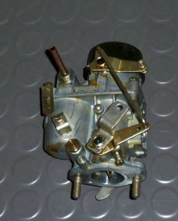 VW Industrie Motor 127: Vergaser Solex 32 PCI