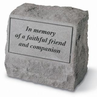 In Memory Of A FaithfulPet Headstone   Pet Memorial   Cat