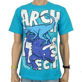 Architects   Dino 2 Band T Shirt, hellblau
