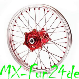 Felge Rad Vorderrad Honda CR CRF KTM EXC F SX F 19 Zoll Excel Rim mgl
