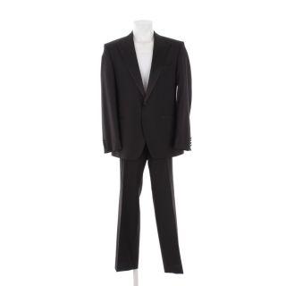 HUGO BOSS BLACK LABEL Anzug Gr. 26 Schwarz Herren Anzug Abendanzug