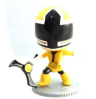 Power Rangers Mighty Morphin MMPR Samurai Super Deformed SD Yellow