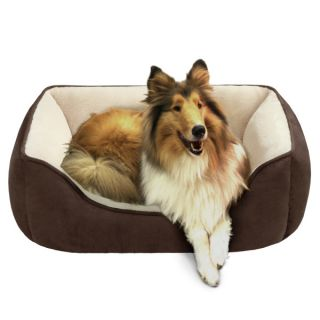 Soft Touch Reversible Rectangular Cuddler Pet Bed   Beds   Dog