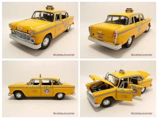 Checker Cab 1981 New York Taxi Modellauto 118 Sun Star