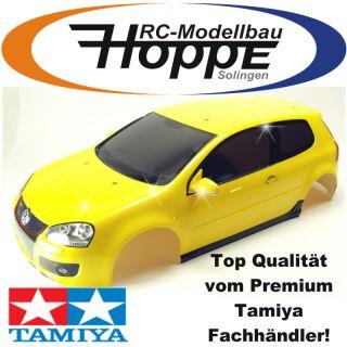 TAMIYA TT 01ES XBS VW Golf GTI V Karosserie TAM 0006