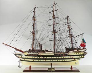 Holz Schiffsmodell Amerigo Vespucci, 95CM Modellschiff