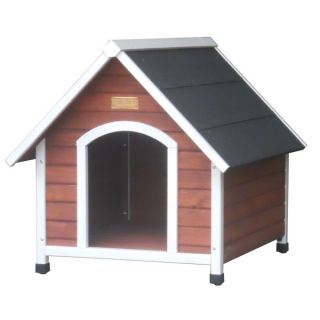 Advantek The Hacienda Dog House   Houses & Outdoor Kennels   Dog