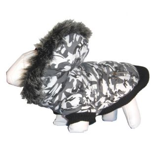 Pet Life Chamo SkI Parka Dog Coat   Clothing & Accessories   Dog