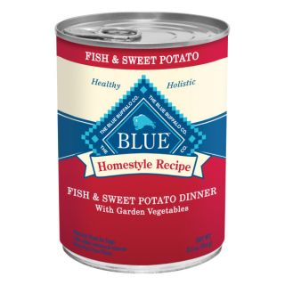 BLUE Homestyle Recipe Fish & Sweet Potato Adult Canned Dog Food   Food   Dog
