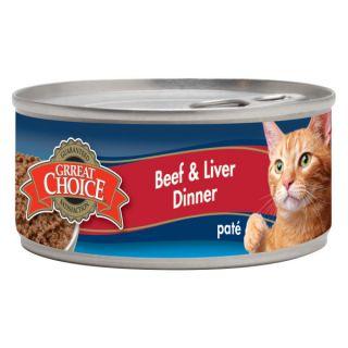 Grreat Choice� Beef & Liver Cat Food   Sale   Cat