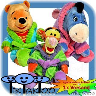 Plüschfigur Winnie Pooh Tigger I Ah Bademantel 25cm Plüschtier