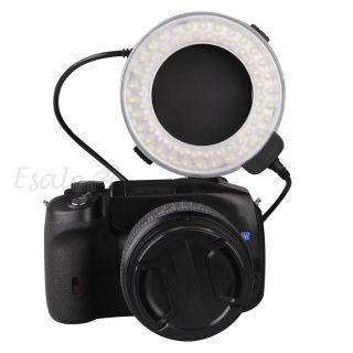 Makro 60 LED Ringblitz Ring Licht Flash Light für CANON DSLR